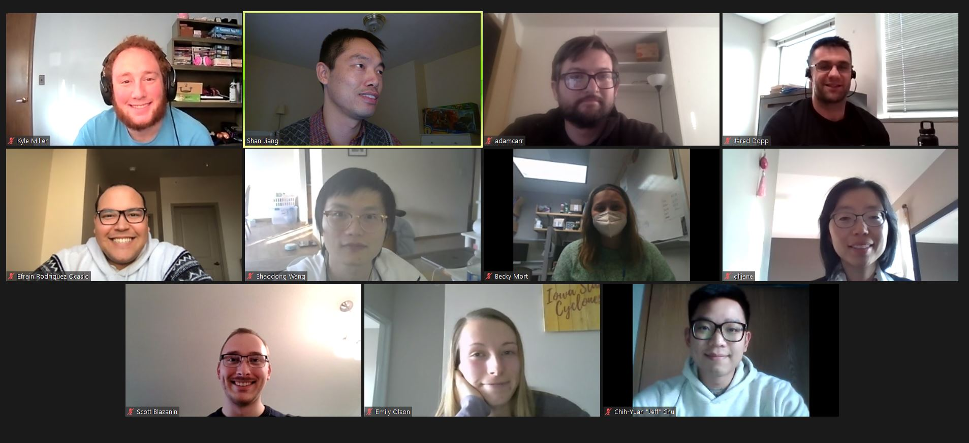 virtual cohort meeting